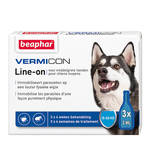 Beaphar Vermicon Line On Spot On Medium Dog 3x3ml