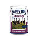 Happy Dog Strauss Pur Strucc színhús konzerv 400g