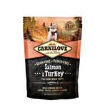 CarniLove Puppy Large Lazac & Pulyka 1,5kg