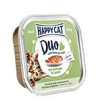 Happy Cat Duo Szárnyas Bárány pástétom 100g