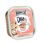 Happy Cat Duo Szárnyas Lazac pástétom 100g