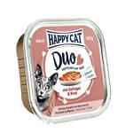 Happy Cat Duo Szárnyas Marha pástétom 100g