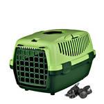 Trixie Capri 1 szállítóbox zöld görgőkészlettel 48x32x31cm