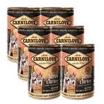 CarniLove Salmon & Turkey Puppy 6x400g