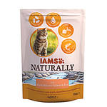 IAMS Naturally Cat Atlanti Lazac 700g