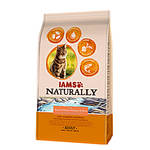 IAMS Naturally Cat Atlanti Lazac 2,7kg