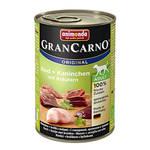 Animonda GranCarno Adult Plus Nyúl Gyógynövény 400g