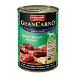 Animonda GranCarno Adult Plus Szarvas Almával 400g