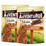 Purina Adventuros Buffalo Sticks bölényhúsos 2x90g