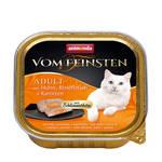 Animonda Vom Feinsten Stuffed Csirke Marha Répával 100g