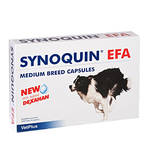 VetPlus Synoquin EFA Medium Breed rágótabletta 30db