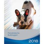 Trixie Francia Bulldog kutyás falinaptár 2018