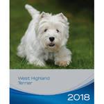 Trixie West Highland Terrier kutyás falinaptár 2018