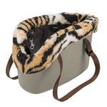 Ferplast With-Me Winter szállító táska bézs 44x22x27cm