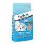 SaniCat Natural Compact csomósodó macskaalom 5L
