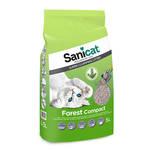 SaniCat Forest Compact csomósodó macskaalom 5L