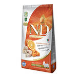 N&D Grain Free Adult Mini Pumpkin Tőkehal Narancs 2,5kg