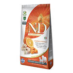 N&D Grain Free Adult Pumpkin Tőkehal Narancs Medium/Maxi 2,5kg