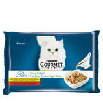 Gourmet Perle Gravy Delight Multipack Csirke Marha 4x85g