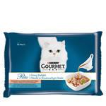 Gourmet Perle Gravy Delight Multipack Lazac Tonhal 4x85g