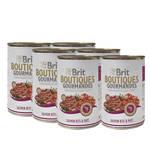 Brit Boutiques Gourmandes Salmon Bits Pate 6x400g