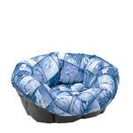 Ferplast Sofa Cushion 2 Jeans 52x39x21cm