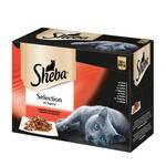 Sheba Selection Multipack Húsos válogatás szószban 12x85g