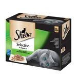 Sheba Selection Multipack Finom válogatás szószban 12x85g