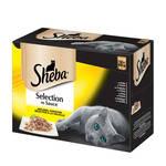 Sheba Selection Multipack Szárnyas válogatás szószban 12x85g