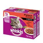 Whiskas Adult 1+ Húsos válogatás szószban 12x100g