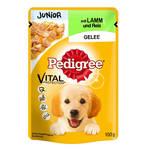 Pedigree Junior Vital Bárányhús Rizzsel 100g