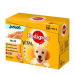 Pedigree Junior Vital Multipack aszpik 12x100g