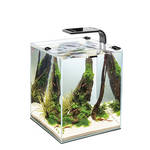 AquaEl Shrimp Set Smart LED 10 Fekete 20x20x25cm