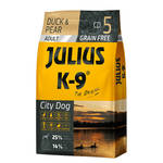 Julius K-9 GF City Dog Adult Kacsa körtével 340g