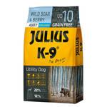 Julius K-9 GF Utility Dog Hypoallergen Adult Vaddisznó áfonya 340g