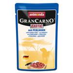 Animonda Gran Carno Exotic Gyöngytyúkkal 125g
