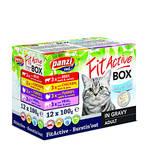 FitActive Cat Fit-A-Box húsos válogatás szószban 12x100g