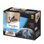 Sheba Selection Multipack Halas válogatás szószban 12x85g