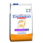 Exclusion Hypoallergenic Duck Small Kacsa Burgonya 800g