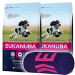 Eukanuba Growing Puppy Medium Breed 2x15kg +Ajándék Törölköző