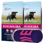 Eukanuba Developing Junior Large Breed 2x15kg +Ajándék Törölköző
