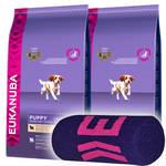 Eukanuba Puppy Lamb & Rice All Breed 2x12kg +Ajándék Törölköző
