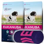 Eukanuba Active Adult Medium Breed 2x15kg +Ajándék Törölköző