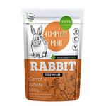 Delicado Verde Complete Menu Rabbit nyúleledel 500g