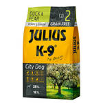 Julius K-9 GF City Dog Puppy Junior Kacsa körtével 340g