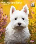 Trixie 2020 évi West Highland Terrier kutyás falinaptár