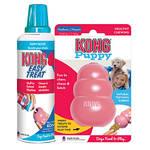 KONG Puppy Medium és Stuffn Easy Treat Puppy Paste
