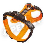 Julius K-9 HDR Hard Dog Race kutyahám Fekete-Narancs 38-56kg XL
