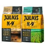 Julius K-9 GF City Dog Adult Kacsa körtével +Nyúl rozmaring 2x10kg
