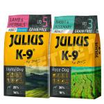 Julius K-9 GF Utility Dog Hypo Adult Bárány gyógynövény +Nyúl rozmaring 2x10kg